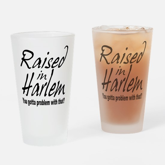 Harlem, new york Pint Glass