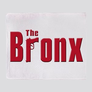 The Bronx,New York Throw Blanket