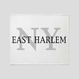 East Harlem New York Throw Blanket