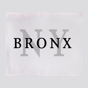 Bronx New York Throw Blanket