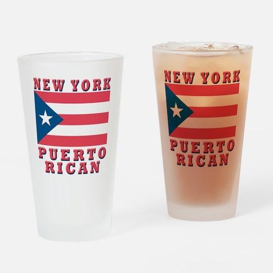 New York Puerto Rican Pint Glass