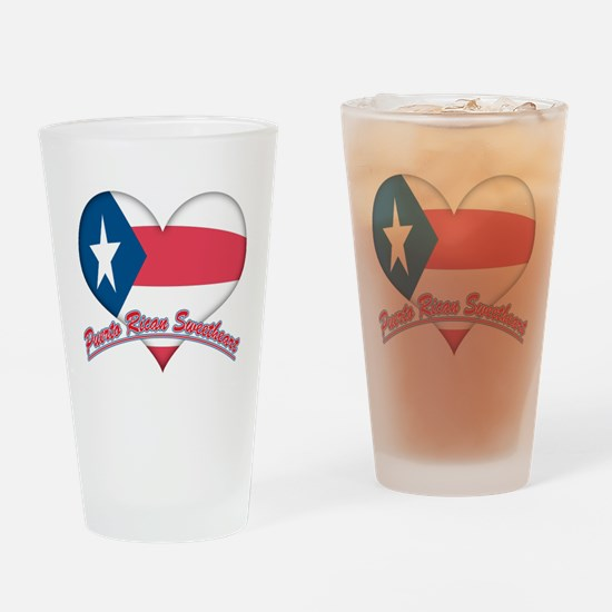 Puerto Rican Sweetheart Pint Glass