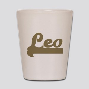 Retro Leo Shot Glass