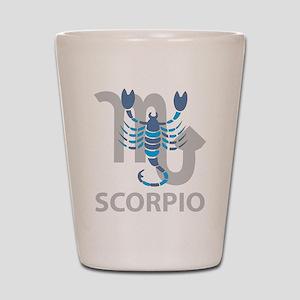 Scorpio Shot Glass