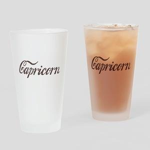 Vintage Capricorn Pint Glass