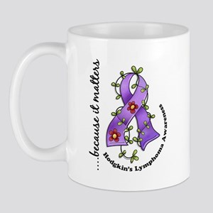 Hodgkin's Lymphoma Awareness Mug
