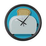 Toast Large Wall Clock