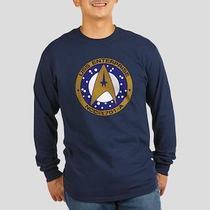 Enterprise 1701-A Long Sleeve Dark T-Shirt