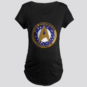 Enterprise 1701-A Maternity Dark T-Shirt