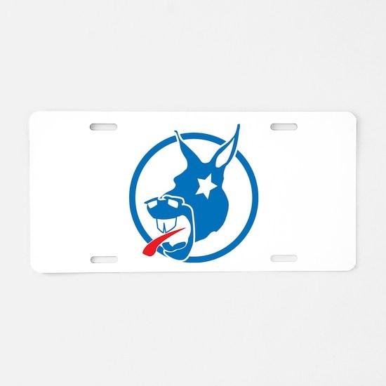 Donkey Aluminum License Plate