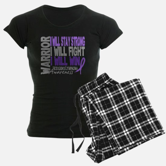 Hodgkin's Lymphoma Warrior Pajamas