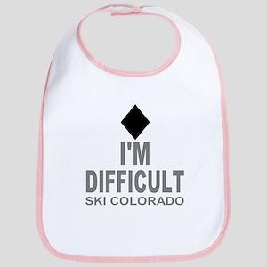 I'm Difficult Ski Colorado Bib