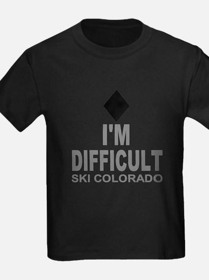 I'm Difficult Ski Colorado T
