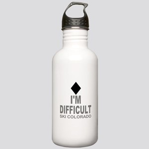 I'm Difficult Ski Colorado Stainless Water Bottle