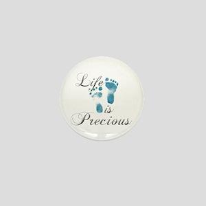 Life Is Precious Mini Button