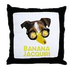 Banana Jacquiri Throw Pillow