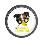 Banana Jacquiri Wall Clock