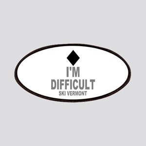 I'm Difficult ~ Ski Vermont Patches
