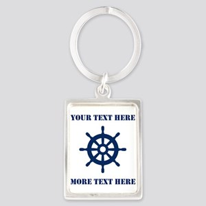 Custom Nautical Sailing / Boating Keychains