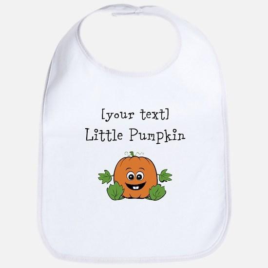 [Personalize] Little Pumpkin Bib