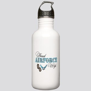 Proud Air Force Wife Stainless Water Bottle 1.0L