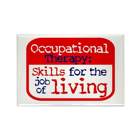 Occupational Therapy - Rectangle Magnet