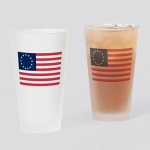 Betsy Ross flag Pint Glass
