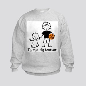 Big Brother - Stick Character Kids Sweatshirt