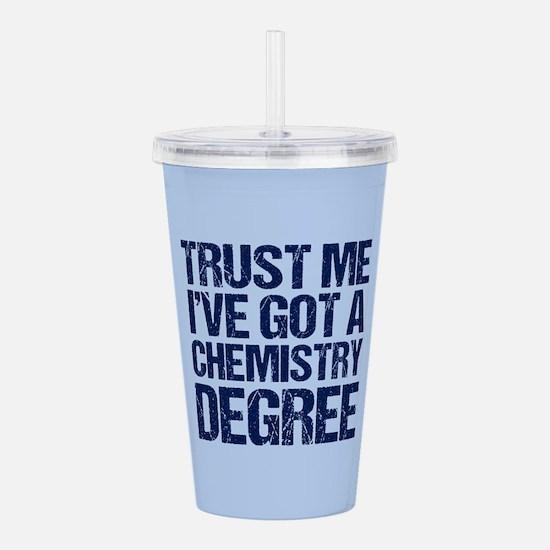 Chemistry Graduate Acrylic Double-wall Tumbler