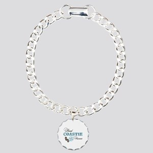 Proud Coast Guard Fiancee Charm Bracelet, One Char