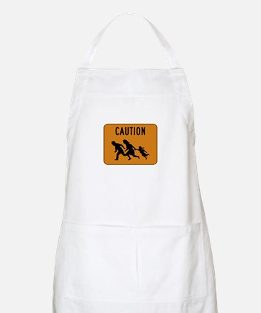 Immigrant Crossing Sign Apron