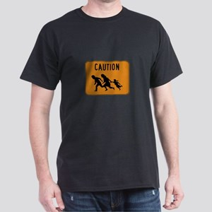 Immigrant Crossing Sign Dark T-Shirt