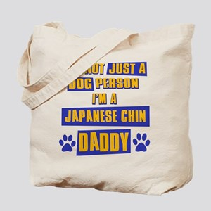 Japanese chin Daddy Tote Bag