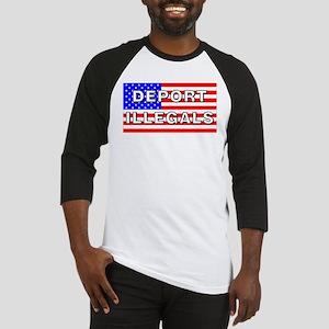 Deport Illegals Baseball Jersey