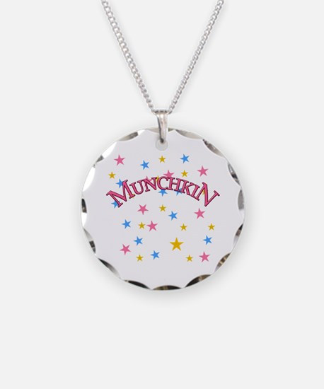 Munchkin Wizard of Oz Necklace Circle Charm