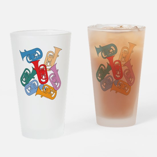 Colorful Euphoniums - Pint Glass