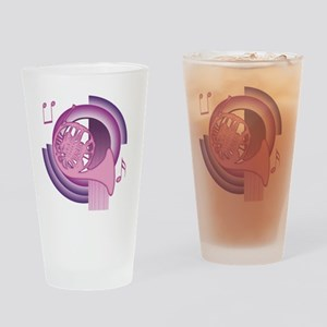 French Horn Deco3 Pint Glass