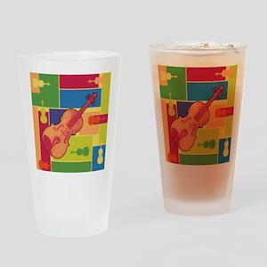 Viola Colorblocks Pint Glass