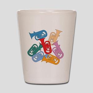 Colorful Euphoniums - Shot Glass