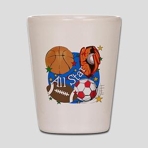830ba26cf6b3 Kids Sports Shot Glasses - CafePress