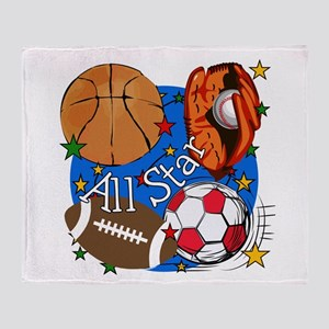All Star Sports Throw Blanket