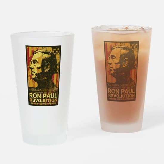 America Needs You Pint Glass