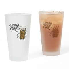 Beer Is The Reason Pint Glass