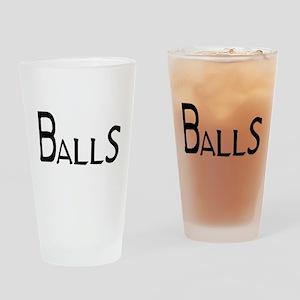 Balls Pint Glass