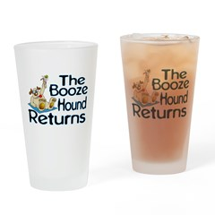 Booze Hound Returns Pint Glass