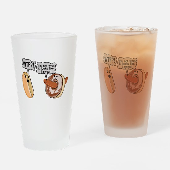 Doughnut Hole Pint Glass