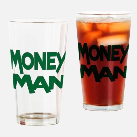 Money Man Pint Glass