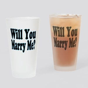 Will You Marry Me? His Pint Glass