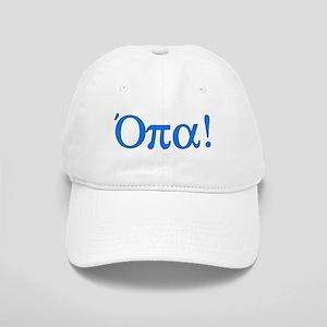 Opa (in Greek) Cap
