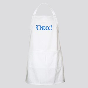 Opa (in Greek) Apron